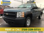2008 Chevrolet Silverado 1500 4WD Reg Cab Long Bed w/Low Miles