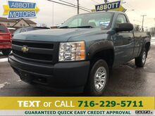 2008_Chevrolet_Silverado 1500_4WD Reg Cab Long Bed w/Low Miles_ Buffalo NY