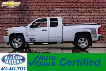 2008_Chevrolet_Silverado 1500_4x4 Ext Cab LTZ GFX Leather Roof_ Red Deer AB