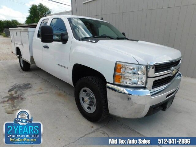 2008 Chevrolet Silverado 2500HD Royal Truck Bed Work Truck Austin TX