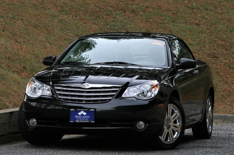 2008 Chrysler Sebring Convertible Limited Sykesville MD