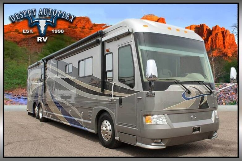 2008 Country Coach Intrigue 530 45' Splendor Quad Slide Class A Diesel RV Mesa AZ