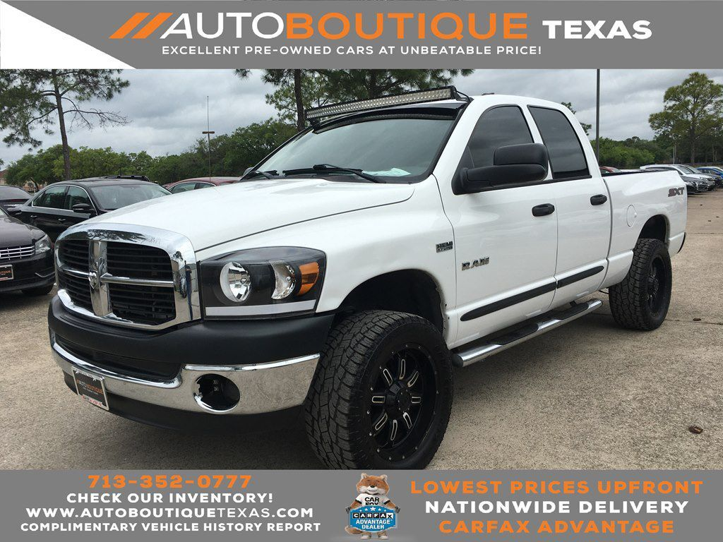 2008 DODGE RAM 1500 ST Houston TX