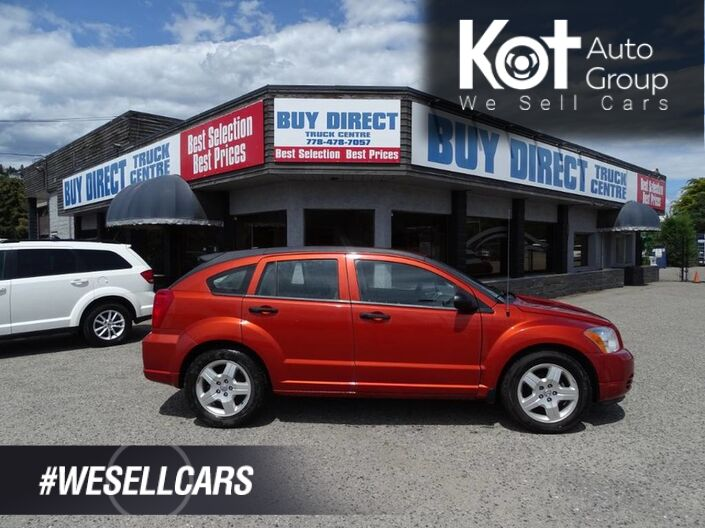 2008 Dodge Caliber SXT, Hatchback, Sunburst Orange Kelowna BC