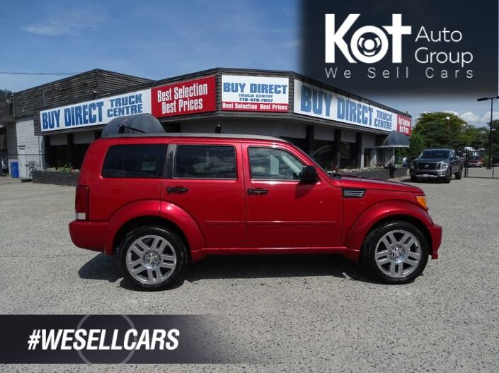 2008 Dodge Nitro SLT, All Maintenance Previously Done, Aftermarket Navigation, 4x4, Tow Package, Sunroof Kelowna BC