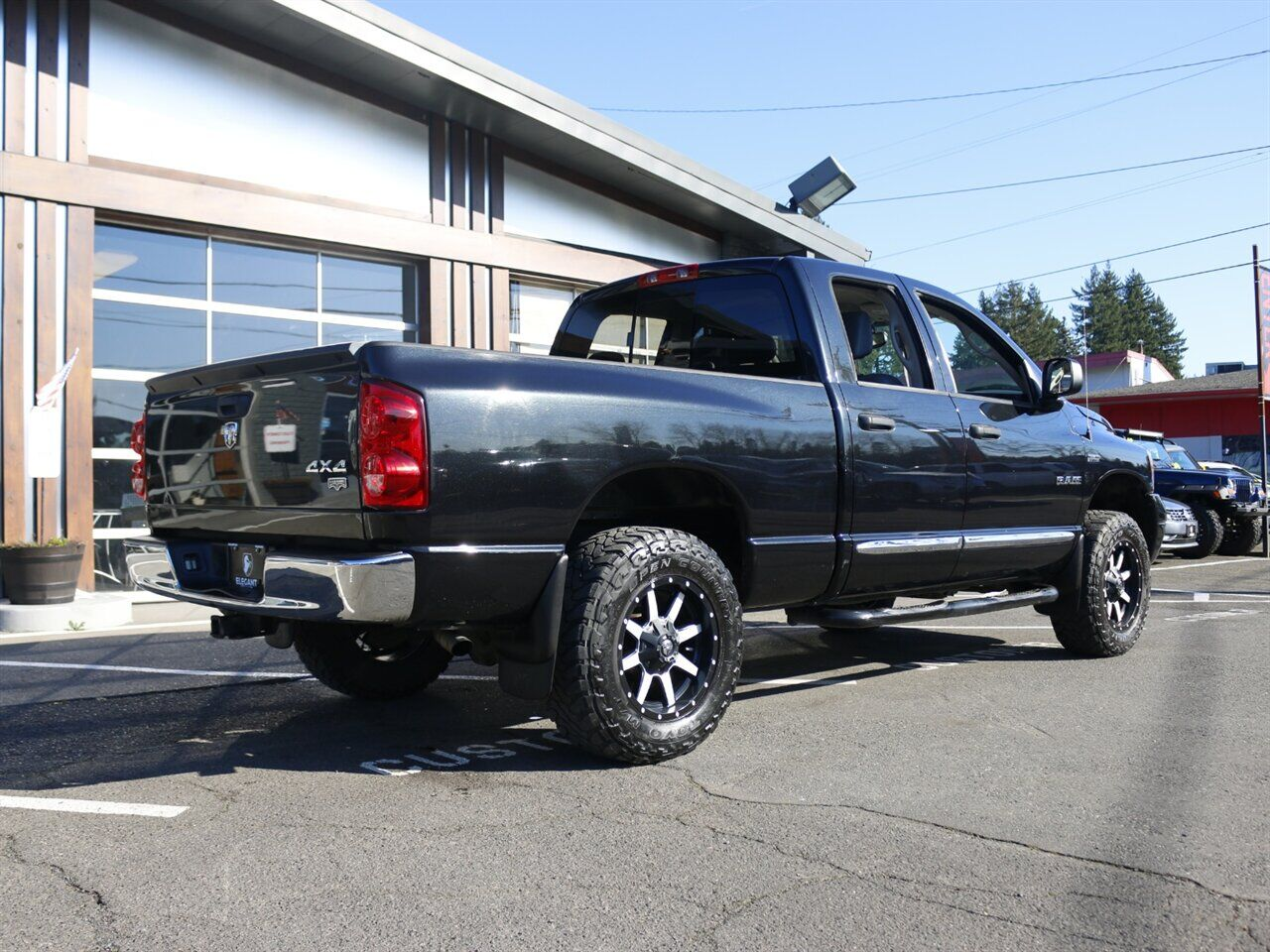 2008 Dodge Ram 1500 Laramie / LEATHER / 4X4 / LOW MILES Beaverton OR