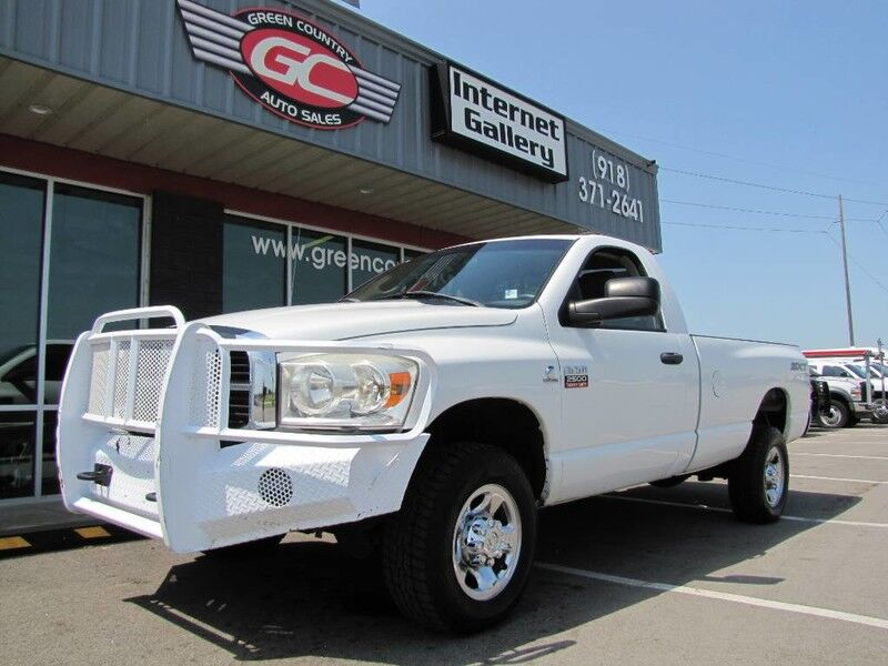 2008 Dodge Ram 2500 4x4 Diesel 6-Speed SXT SLT