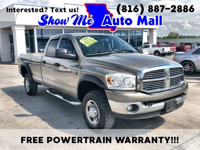 Show Me Auto Mall >> Used 2008 Dodge Ram 2500 Slt In Harrisonville Mo