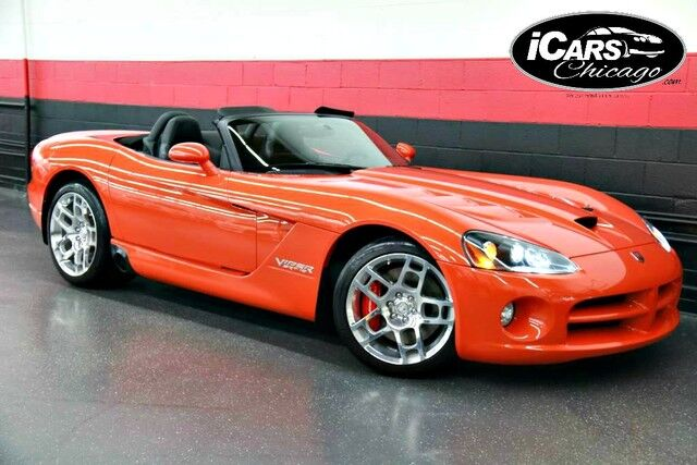 2008 Dodge Viper Srt10 2dr Convertible Skokie Il 19323174