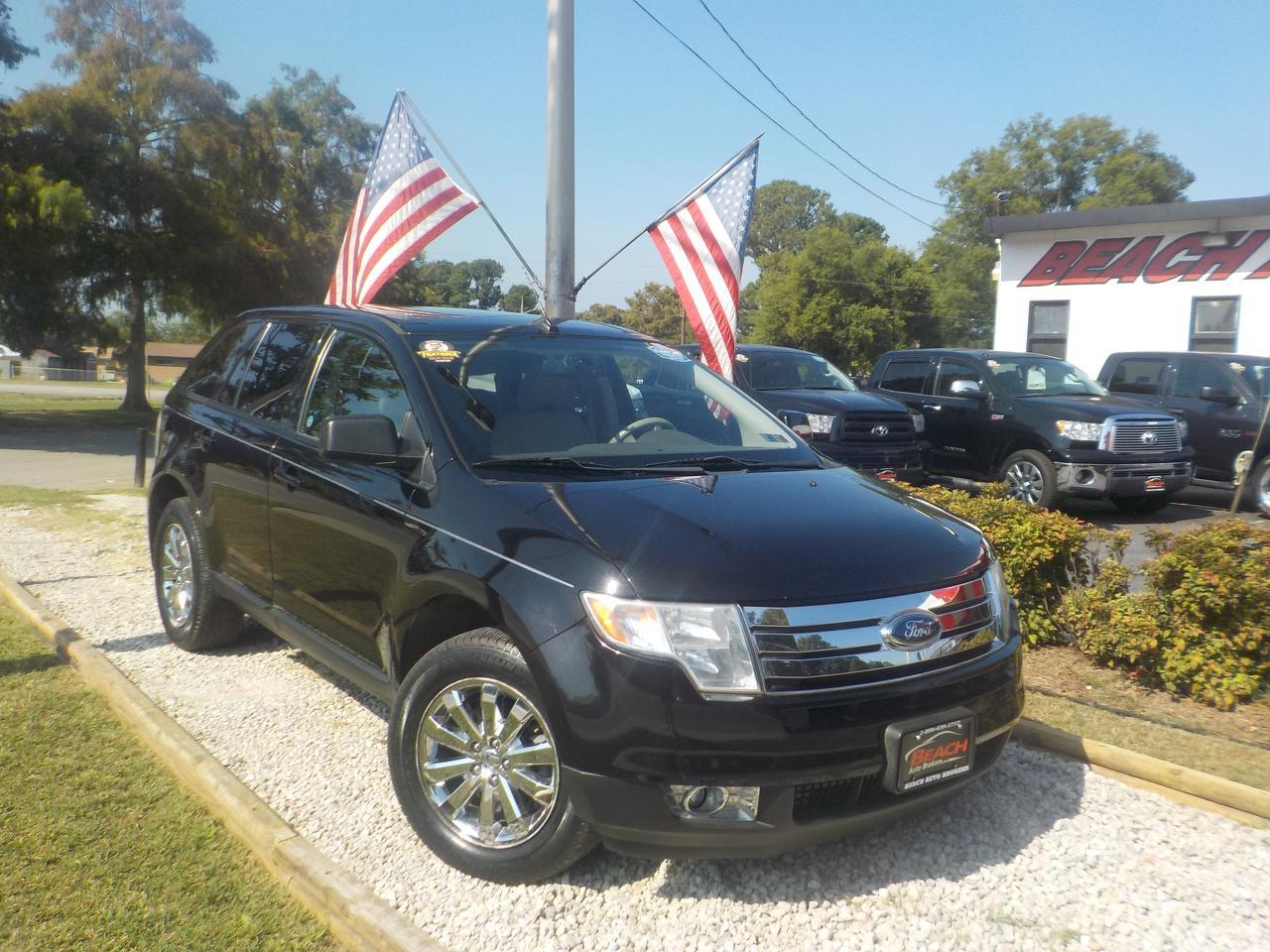 2008 FORD EDGE SEL, WARRANTY, PARKING SENSORS, HEATED SEATS, PANORAMIC ROOF, LOW MILES, 1 OWNER!