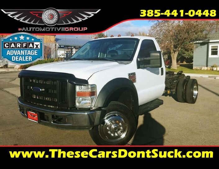 2008 FORD F550 SUPER DUTY Sandy UT