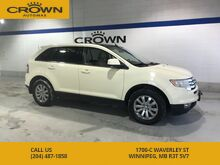 2008_Ford_Edge_Limited AWD **Remote Start** Heated Leather Seats** Sunroof** Chrome Rims**_ Winnipeg MB