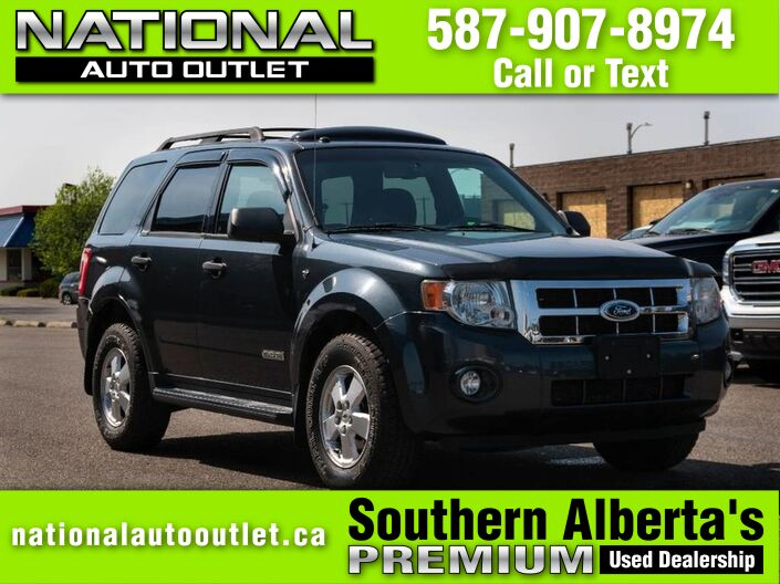 2008 Ford Escape XLT -CLEAN CARFAX - AWD Lethbridge AB