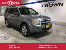 2008_Ford_Escape_XLT **4X4/Local/V6**_ Winnipeg MB