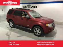 2008_Ford_Escape_XLT/V6/AWD/Leather_ Winnipeg MB