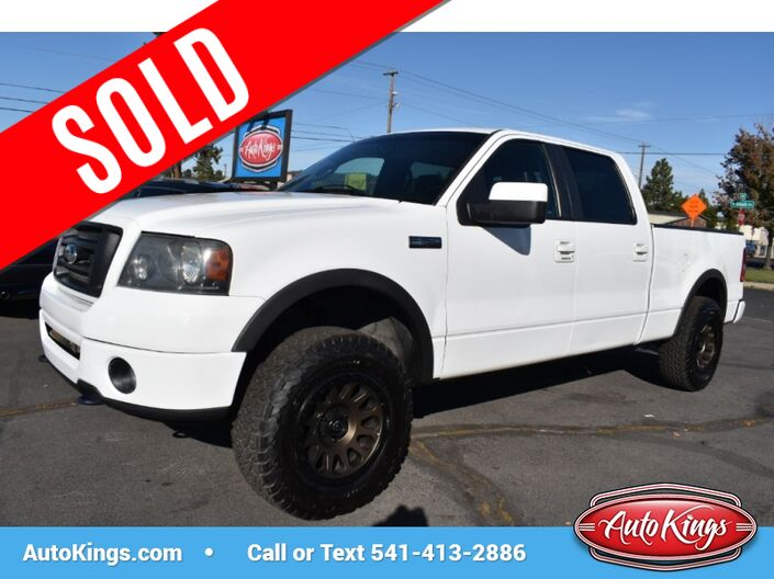 2008 Ford F-150 4WD SuperCrew 139  XLT Bend OR