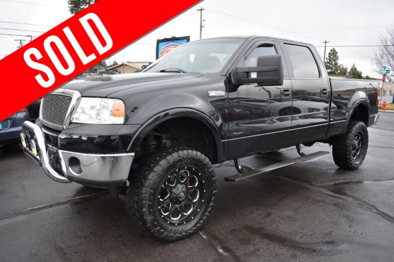 2008 Ford F-150 4WD SuperCrew Lariat Bend OR