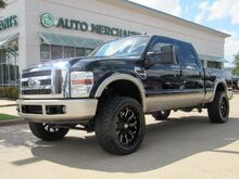 2008_Ford_F-250 SD_King Ranch Crew Cab 4WD LEATHER, HTD FRONT STS, TOWING PKG, TAILGATE STEP ASSIST, AM/FM RADIO, CD_ Plano TX