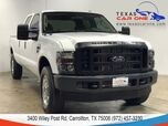2008 Ford F-250 SD XL CREW CAB 4WD TURBO DIESEL AUTOMATIC VINYL SEATS TOWING HITCH BED LINER