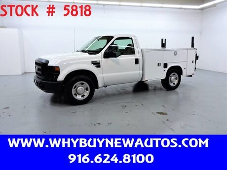 2008 Ford F350 Utility ~ Liftgate ~ Only 26K Miles! Rocklin CA