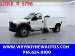 2008 Ford F450 Utility ~ Only 54K Miles!