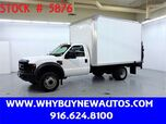 2008 Ford F550 ~ 12ft. Box Van ~ Liftgate ~ Only 73K Miles!