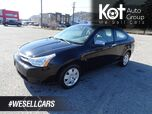 2008 Ford Focus SE, Manual Transmission, Low KM's
