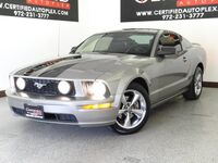 Ford Mustang GT DELUXE COUPE 4.6L V8 POWER LEATHER SEAT REAR SPOILER BLACK STRIPS FOG LI 2008