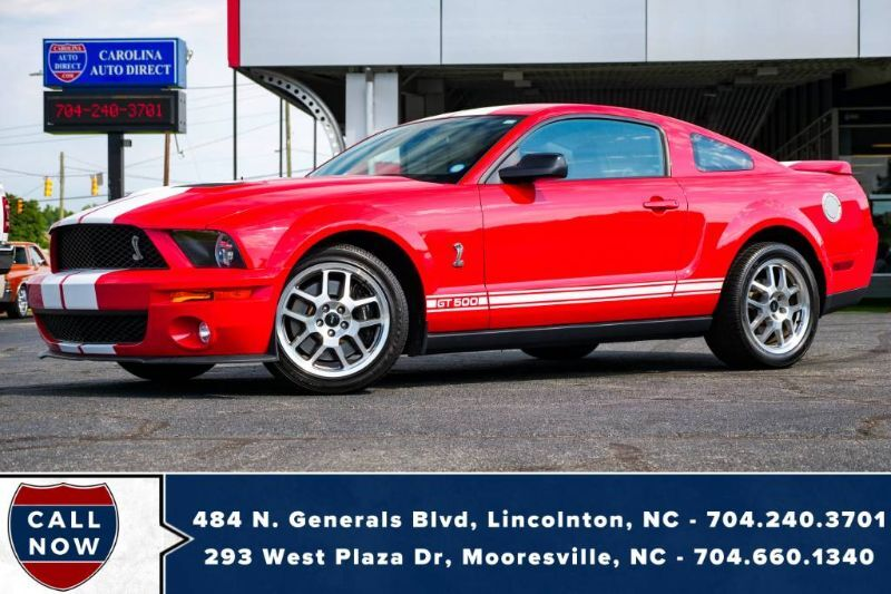 2008 Ford Mustang Shelby GT500 COBRA **MANUAL** w/ ProCal & LOW MILES!! Mooresville NC
