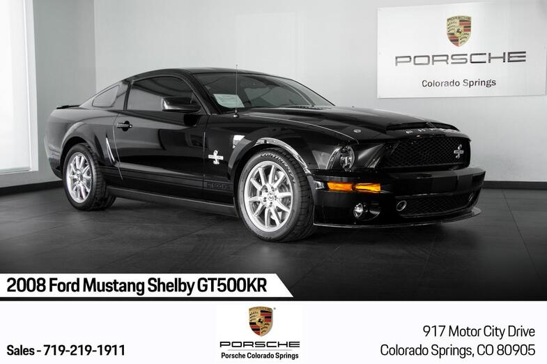 2008 Ford Mustang Shelby GT500KR Colorado Springs CO