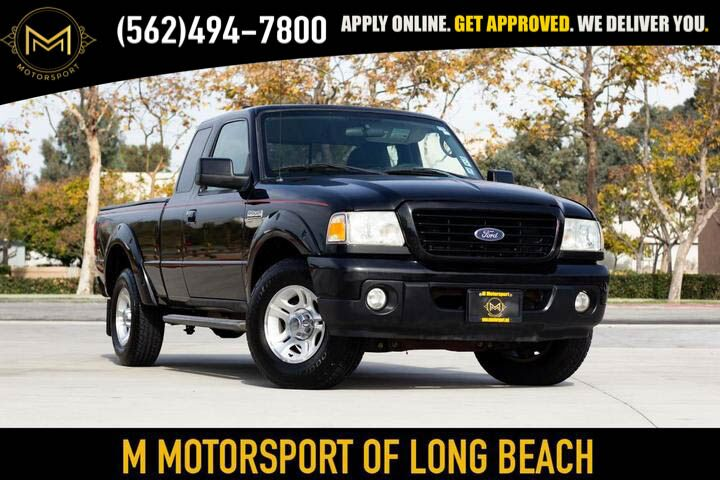 2008_Ford_Ranger Super Cab_XLT Pickup 2D 6 ft_ Long Beach CA