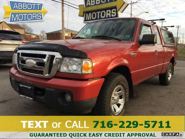 2008 Ford Ranger XLT SuperCab 4WD w/Low Miles Buffalo NY
