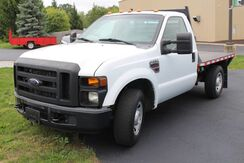 2008_Ford_Super Duty F-250 SRW Reg Cab FLATBED Diesel_XL_ Fort Wayne Auburn and Kendallville IN