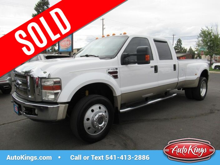 2008 Ford Super Duty F-450 DRW 4WD Crew Cab 172 Lariat Bend OR