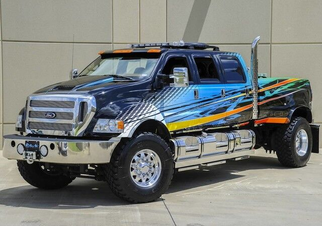 2008 Ford Super Duty F-650 Straight Frame Over $339,000 Invested The Colony TX