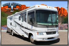 2008 Forest River Georgetown 350TS Triple Slide Bunkhouse Class A RV