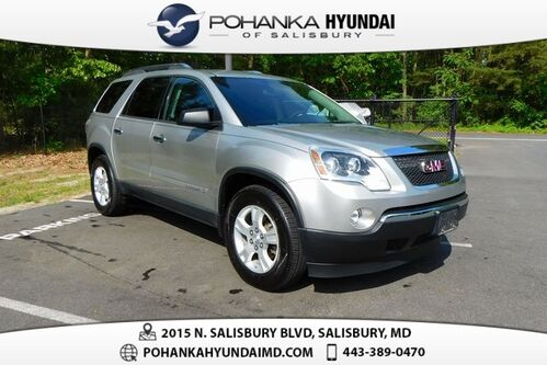 2008_GMC_Acadia_SLE-1 **PERFECT MATCH**_ Salisbury MD