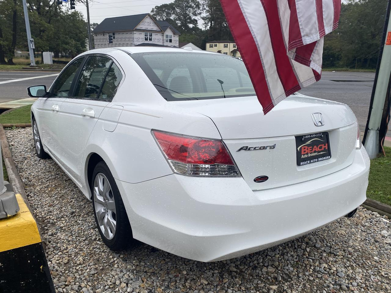2008 HONDA ACCORD EX-L, WARRANTY, LEATHER, HEATED SEATS, SUNROOF, AUX PORT, CLEAN CARFAX, 1 OWNER, LOW MILES! Norfolk VA