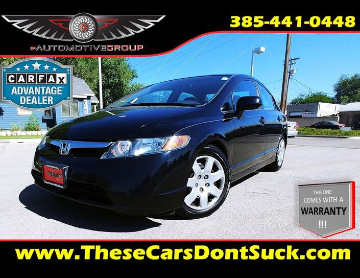2008 HONDA CIVIC LX Sandy UT
