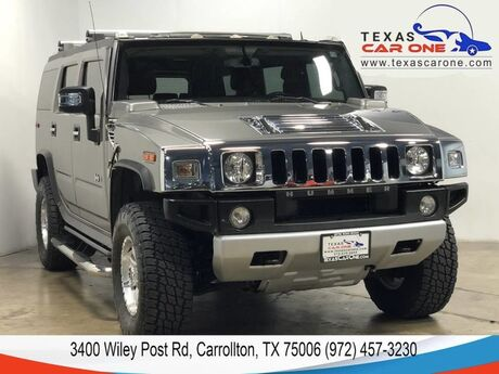 2008 HUMMER H2 LUXURY 4WD NAVIGATION TV ENTERTAINMENT SUNROOF LEATHER REAR CAME Carrollton TX