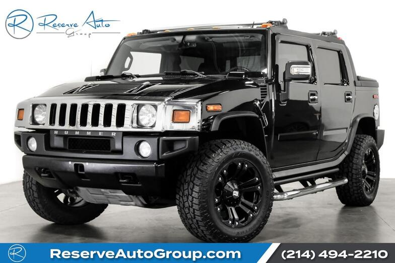 2008 HUMMER H2 SUT Luxury Pkg Navigation AirSuspension BackUp Cam The Colony TX