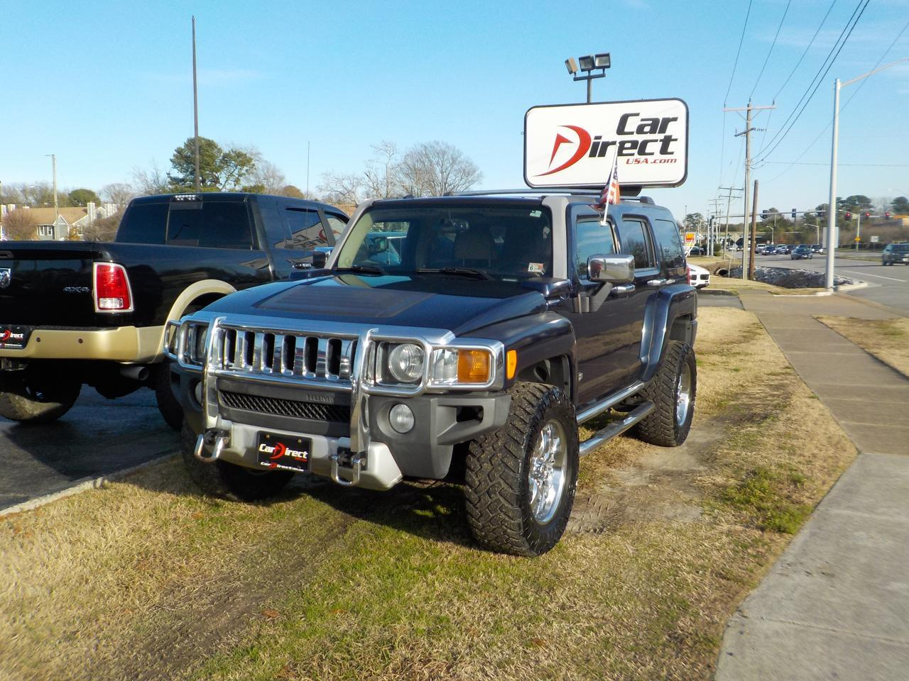 2008 HUMMER H3 4X4, LEATHER, CUSTOM CRUISER ALLOY RIMS, BLUETOOTH WIRELESS, TOW PACKAGE, BACKUP CAMERA, SUNROOF! Virginia Beach VA