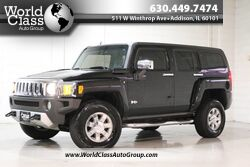 HUMMER H3 SUV H3X - AWD LEATHER INTERIOR SUN ROOF POWER HEATED SEATS CHROME ACCENTS ALLOY WHEELS FULL SPARE CLEAN 2008