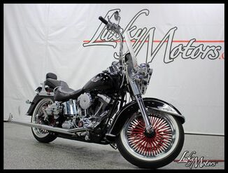 2008_Harley-Davidson_SOFTAIL_Deluxe Tons of Tasteful Upgrades!_ Villa Park IL