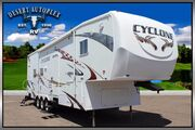 2008 Heartland Cyclone 3210 Double Slide 5th Wheel Toy Hauler Mesa AZ