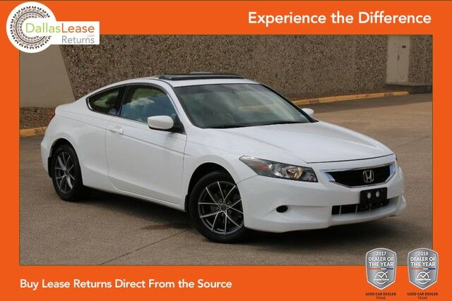 2008 Honda Accord Cpe EX-L Dallas TX