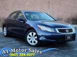 2008 Honda Accord Sdn EX-L 1 Owner Heated Leather Sunroof