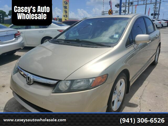 2008 Honda Civic EX Sedan AT Sarasota FL