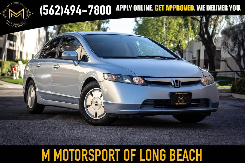 2008_Honda_Civic_Hybrid Sedan 4D_ Long Beach CA