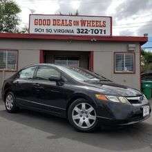 2008_Honda_Civic_LX Sedan_ Reno NV